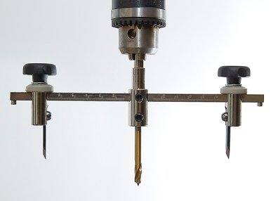 Drill Press Model Hole Cutter